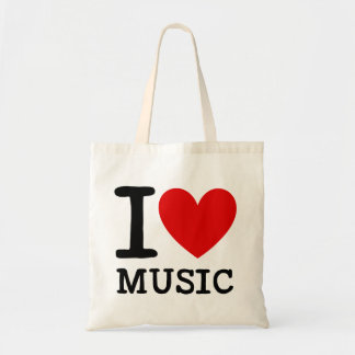 I Love Music Teacher Tote