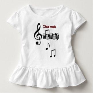 I love music toddler T-Shirt