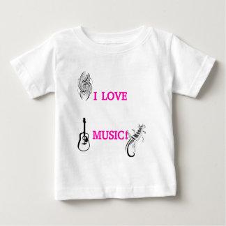 I LOVE MUSIC! TSHIRT