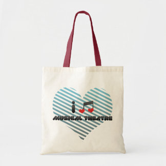 I Love Musical Theatre Tote Bag