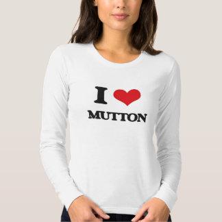I Love Mutton T Shirt