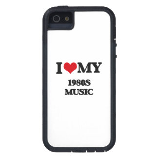 I Love My 1980S MUSIC iPhone 5/5S Cases