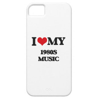 I Love My 1980S MUSIC Cover For iPhone 5/5S