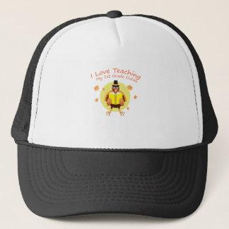 I Love My 1st Grade Cuties Teacher First Grade Trucker Hat