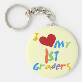 I Love My 1st Graders Tshirts and Gifts Key Chains