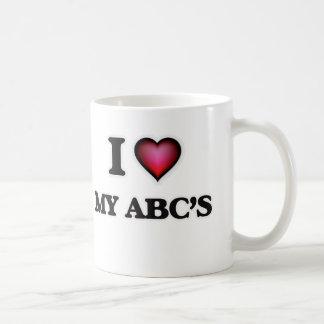 I Love My Abc'S Coffee Mug