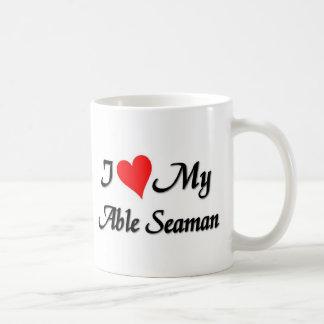 I love my Able Seaman Coffee Mug