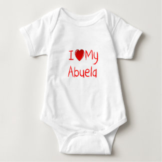 I Love My Abuela Infant & Toddler T-Shirt