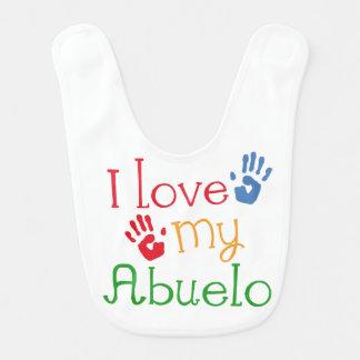I Love My Abuelo Baby Infant Bib