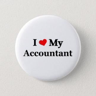 I love my Accountant 6 Cm Round Badge