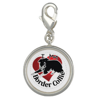 I Love My Adorable Funny & Cute Border Collie Dog