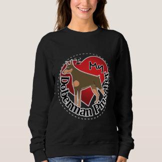 I Love My Adorable Funny & Cute Doberman Pinscher Sweatshirt