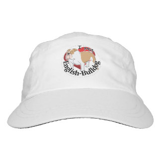 I Love My Adorable Funny & Cute English Bulldog Hat