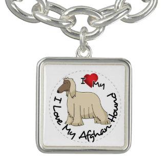 I Love My Afghan Hound Dog