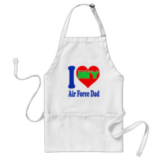 I love my Air Force Dad Standard Apron