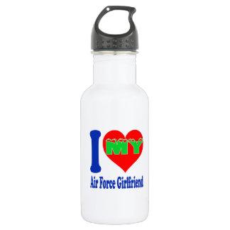 I love my Air Force Girlfriend. 532 Ml Water Bottle