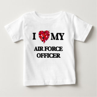 I love my Air Force Officer Tee Shirts