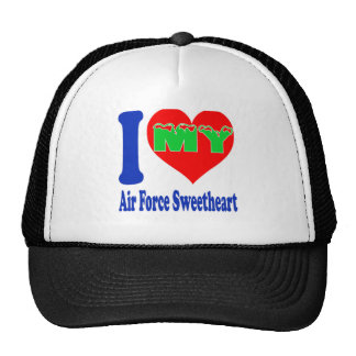 I love my Air Force Sweetheart. Trucker Hat