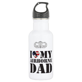 I LOVE MY AIRBORNE DAD 532 ML WATER BOTTLE