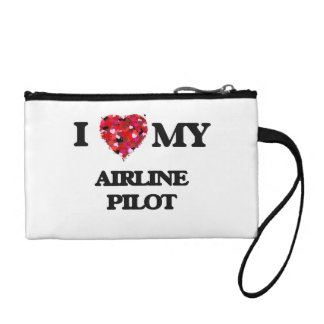 I love my Airline Pilot Coin Wallets