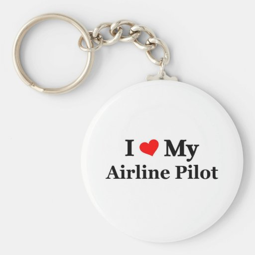 I love my Airline Pilot Keychains