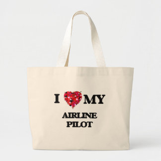 I love my Airline Pilot Jumbo Tote Bag