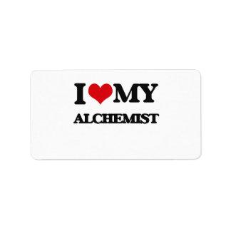 I love my Alchemist Label