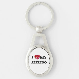 I love my Alfredo Silver-Colored Oval Key Ring