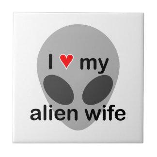 I love my alien wife tiles