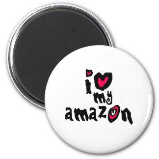 I Love My Amazon Magnet