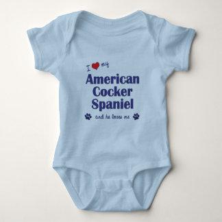 I Love My American Cocker Spaniel (Male Dog) T Shirt