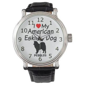 I Love My American Eskimo Dog Watch