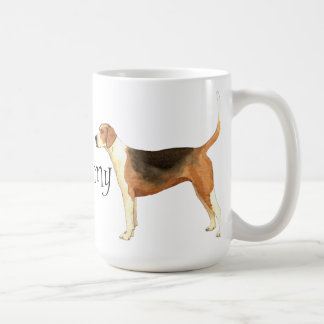 I Love my American Foxhound Coffee Mug