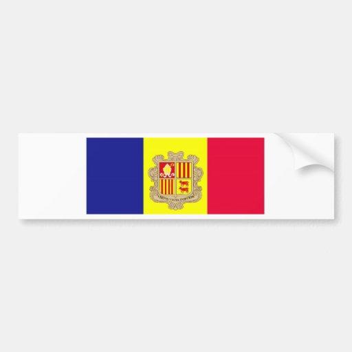 I love my Andorran wife Bumper Sticker