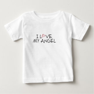 I love my angel apparel baby T-Shirt