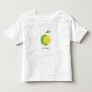 I love my apples organic tshirts