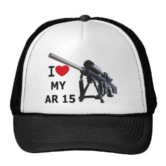 I Love My AR-15 Mesh Hats