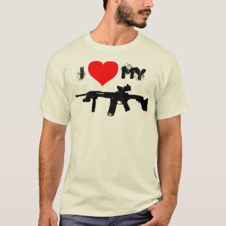 I Love My AR-15 T-Shirt