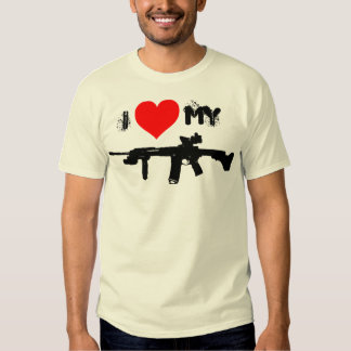 I Love My AR-15 T Shirts