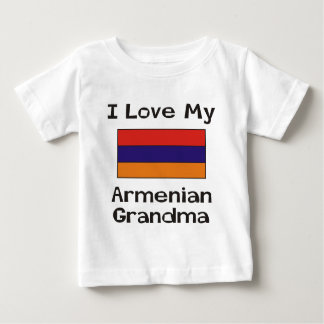 I Love My Armenian Grandma Baby T-Shirt