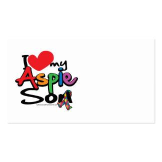 I Love My Aspie Son Business Card