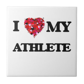 I love my Athlete Small Square Tile