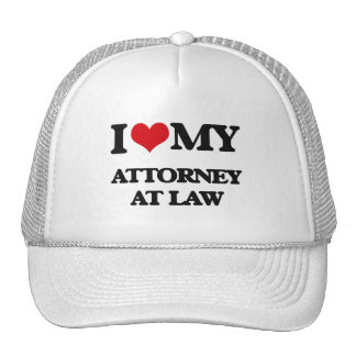 I love my Attorney At Law Trucker Hat