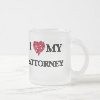 I love my Attorney 10 Oz Frosted Glass Coffee Mug