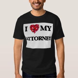 I love my Attorney Tee Shirt