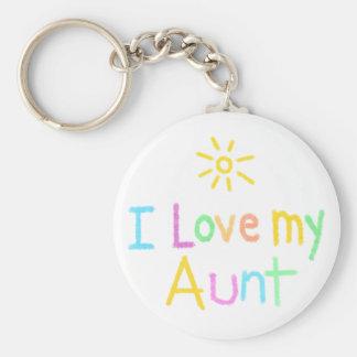 I love my Aunt Key Ring