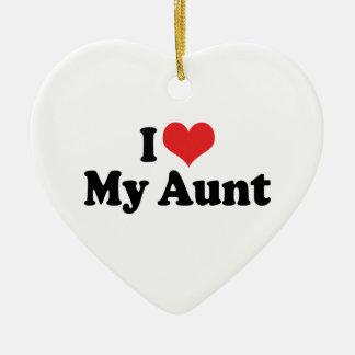 I Love My Aunt Ornament