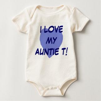 I LOVE MY Auntie T. B Baby Bodysuit