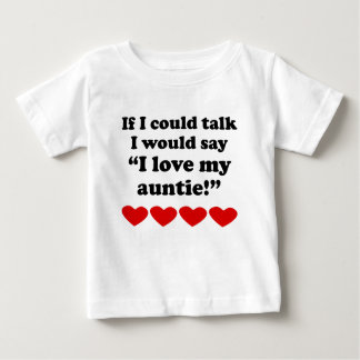 I Love My Auntie Tee Shirts