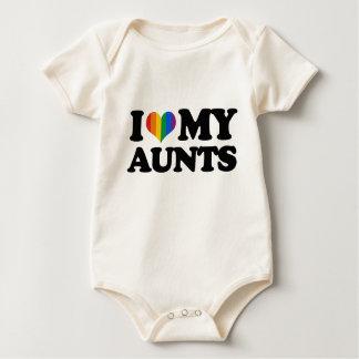 I Love My Aunts Baby Creeper